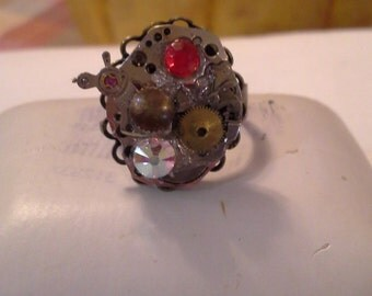 Steampunk Ring R 108