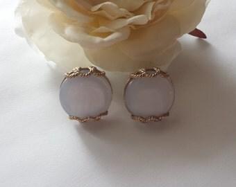 Vintage Lucite Earrings Plastic Earrings Vintage 1950s Jewelry