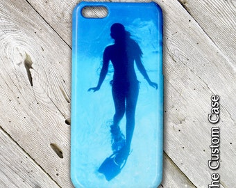 Snorkeling Iphone Case, Diver Iphone Case, Original Photography Iphone Case, Tropical Iphone Case, Iphone 4, 5, 6, 6 PLUS, Made In The USA