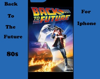 Back to the future iphone case, iphone case, iphone case,80's, cover, retro, iphone 6, iphone 5, cover, iphone 6 plus, iphone 4