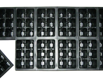 720 Cells - Seed Starting Tray Inserts - Growing Supplies, Seed Propagation, Indoor Gardening, Organic Gardening, Seed Starting Cell Trays