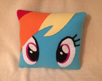 Rainbow Dash Plush Pillow, My Little Pony Bedroom, Pony Decor