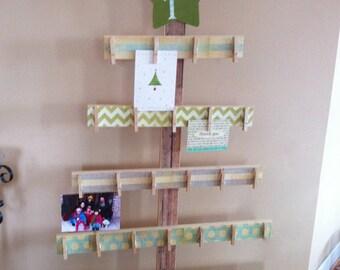rustic tree advent calendar – Etsy