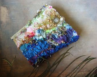 SALE  20% off annemarie - a delicate embroidered wrist cuff