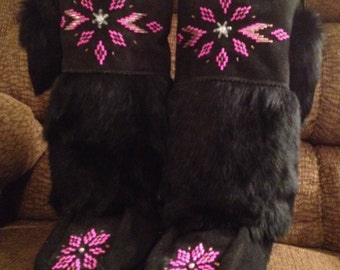 Design your mukluks and let me make them for you!!