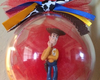 Toy Story Woody Globe Ornament