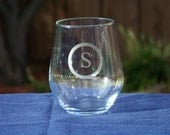 Personalized Stemless Wine Glass Set, Etched Wine Glasses, Personalized Glasses, Wedding Gift, Chic Wedding