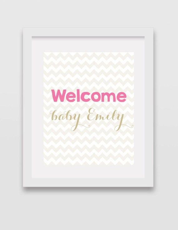 welcome baby sign baby shower sign welcome sign newborn sign