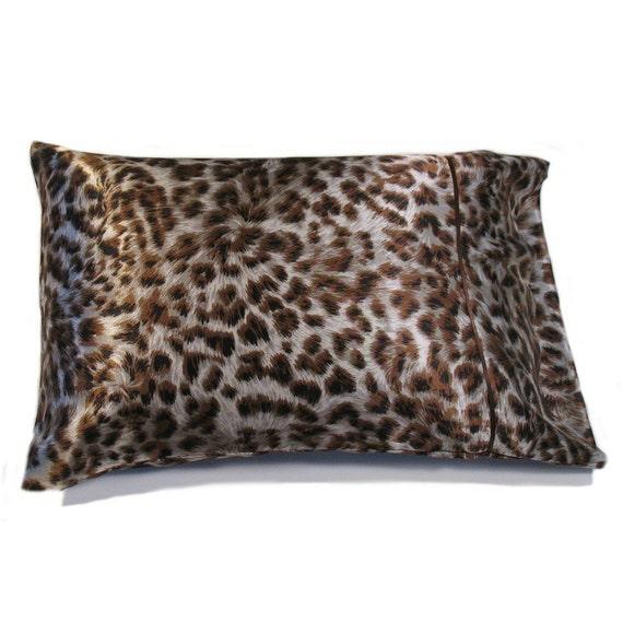 Satin Travel Pillow Bedroom Pillow. Decorative Bed Pillow