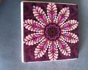 Tibbi's Space: ID Wine Glass Coaster Pattern