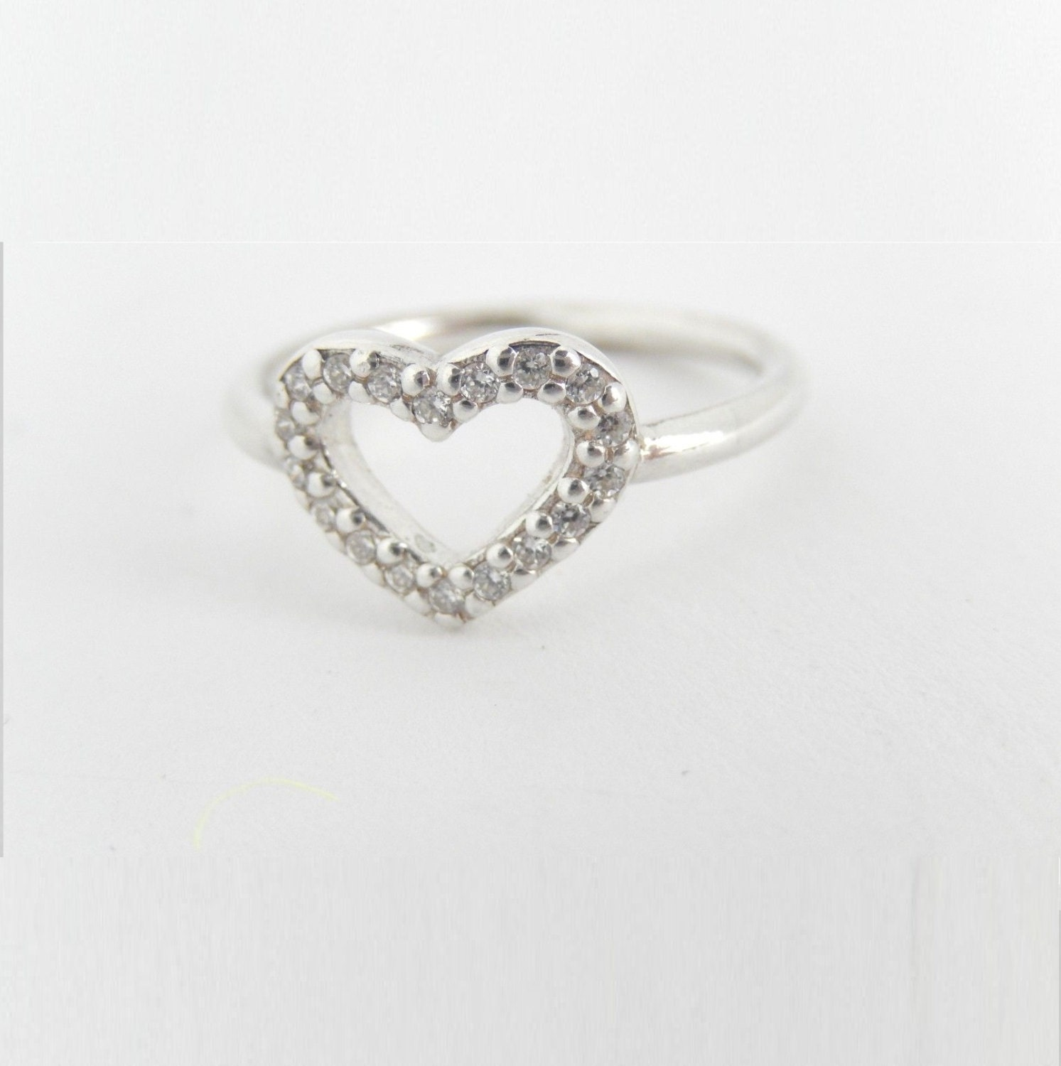 New Authentic Pandora Silver Ring Be My Valentine By Schmotki