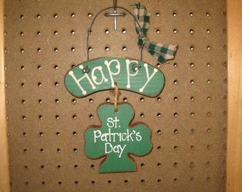 Happy Saint Patrick's Day Sign