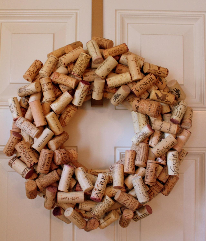 Cork Wreath: Wine Cork WreathCorksWineWreathCork Wreath