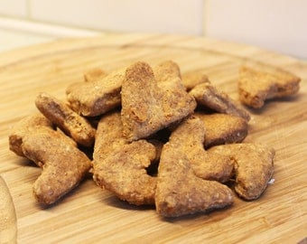 Cheesy Hearts- Dog Treats, Dog Biscuits