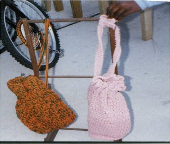 Crochet Easter Bag Pattern : Crocheted Everyday Bags