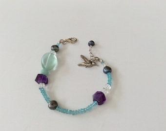 Esmeralda Free-Bird bracelet