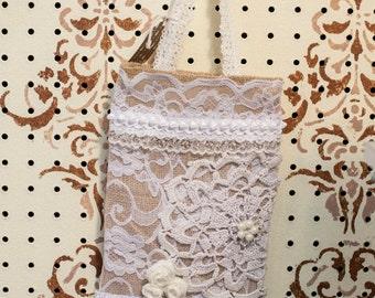 Handmade Vintage looking handbag
