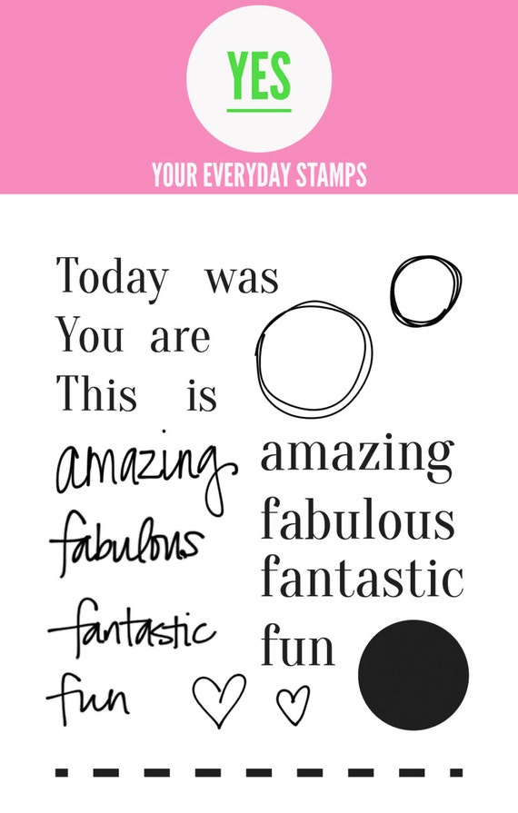 Your Everyday Stamps Today set