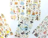 Vintage Disney Stickers- 1 sheet