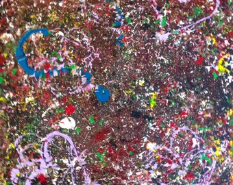 Acrylic Abstract Love