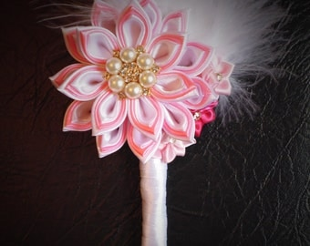 Boutonniere for the groom, guests