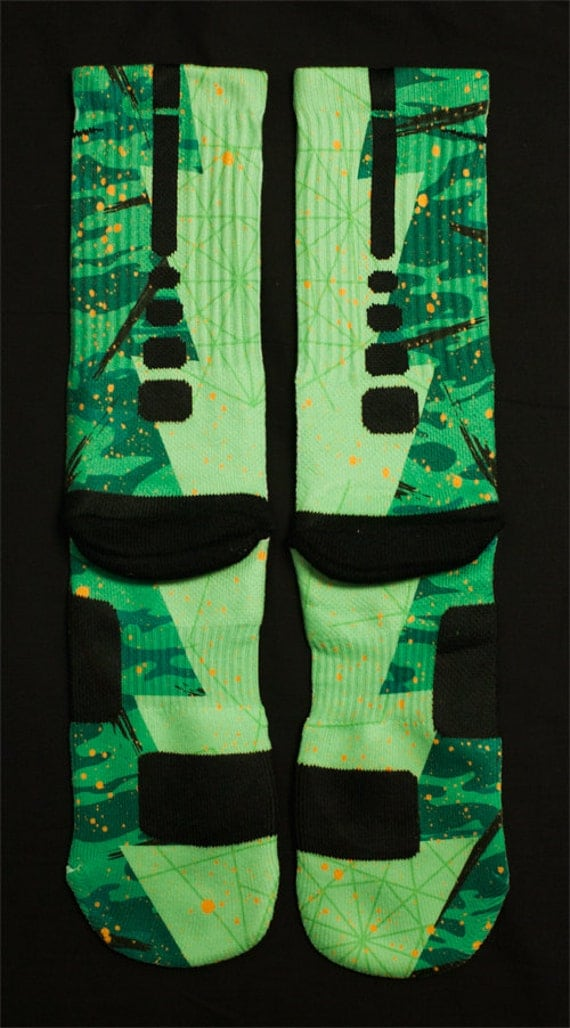 Custom Nike Elite Socks for KD 6 Easter Shoes   570 x 1028 jpeg 105kB