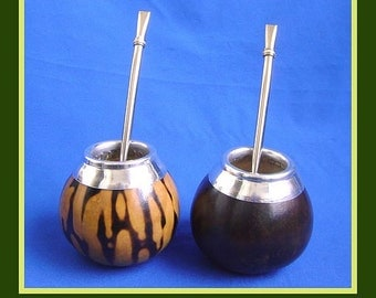 Mate Gourd + Cleanable Bombilla - BUY 1 & GET 1 FREE