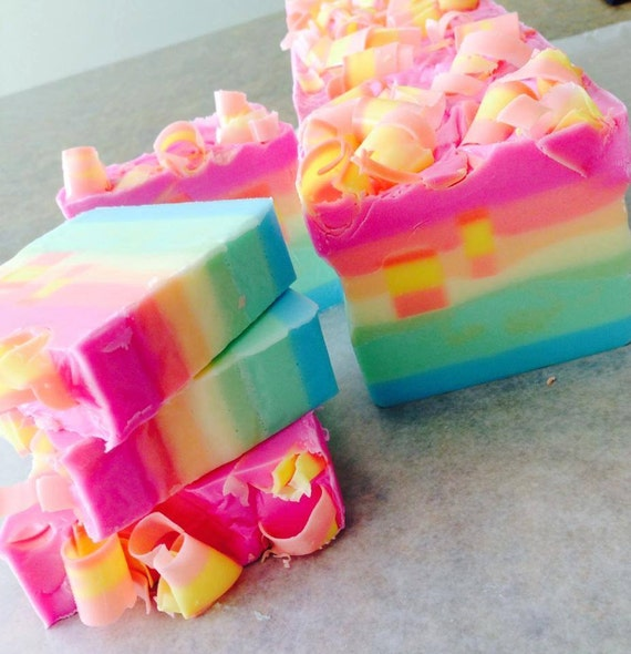 Bahama Mama Shea Butter Artisan Soap