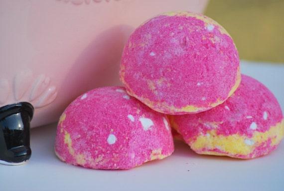 Raspberry & Sweet Meyer Lemon Bath Creamer