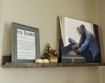 1 4 ft. Floating Shelves or Picture Ledges, Rustic Home Decor, Rustic Floating Shelf, Rustic Picture Ledge, Gallery Wall