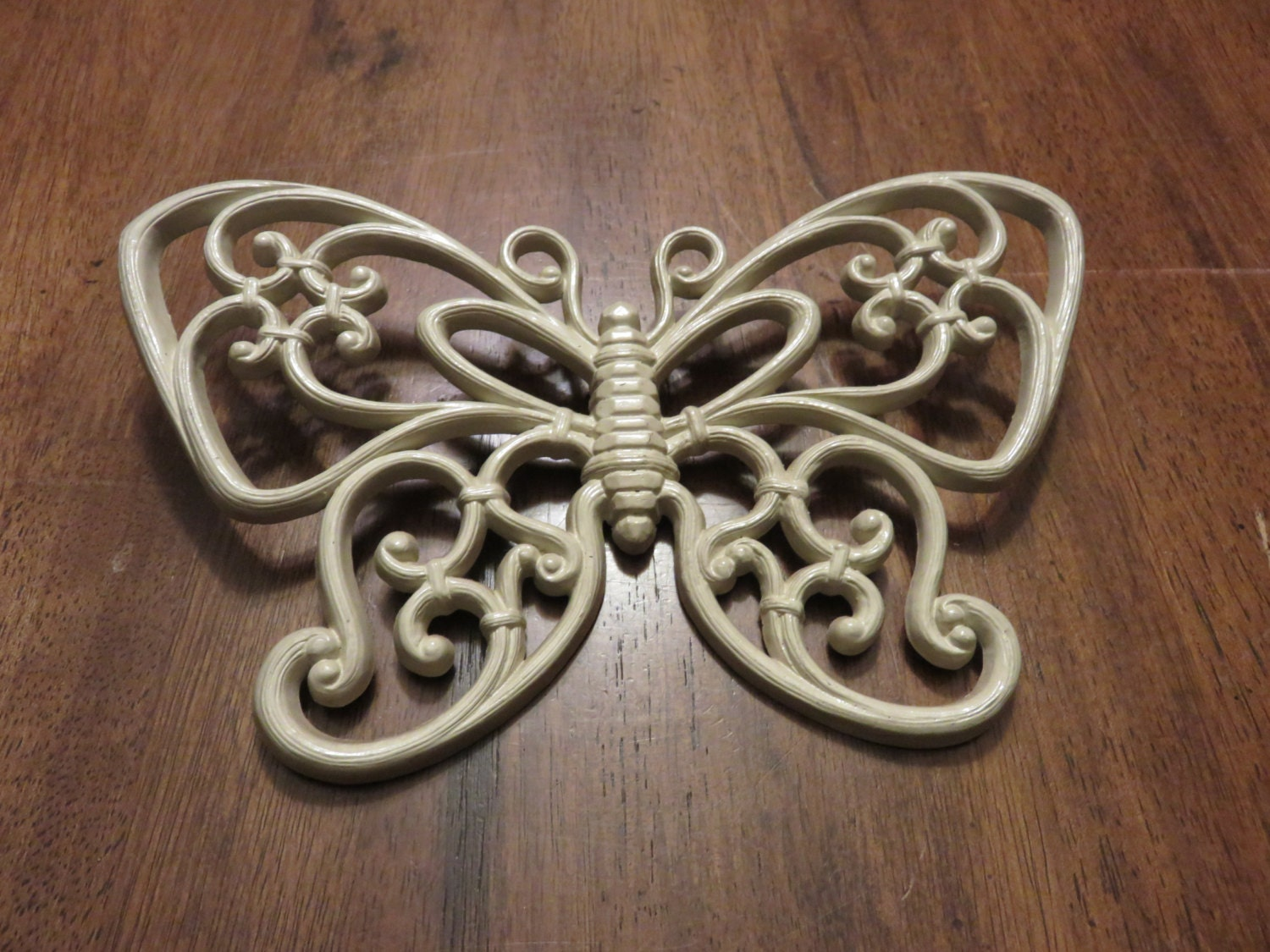 homco butterfly wall decor resin butterfly by