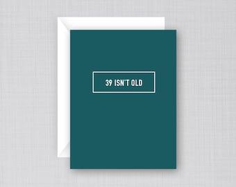 40th Birthday | Birthday Card | Funny 40th Birthday Card