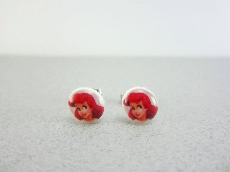ariel earrings ariel jewelry ariel ariel birthday