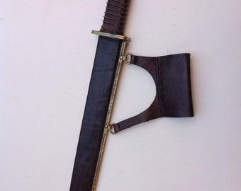 Viking Seax , Large Viking Knife, Rubber blade prop