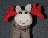 Reindeer Sock Doll