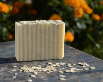 Patchouli Oatmeal Vegan Cold Processed Soap