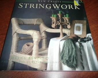 Hardcover String Work Craft Book 1998