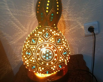 Handmade Calabash Gourd Lamp