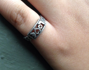 Sterling Silver Ring LOVE SZ 5.5