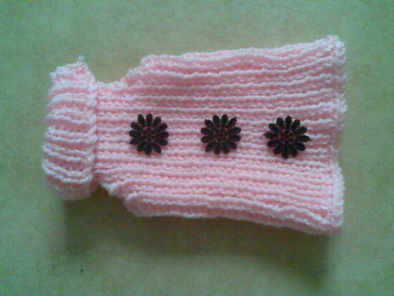 Knitting Pattern For Hamster Jumper : Dog Sweater Dog Jumper Cat Sweater Puppy Sweater Hamster