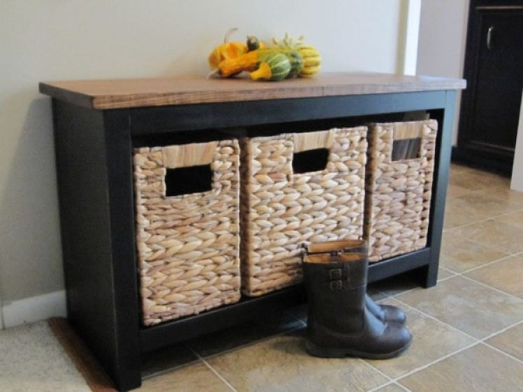 front door shoe storage bench window seat by mauricewoodworks. Black Bedroom Furniture Sets. Home Design Ideas