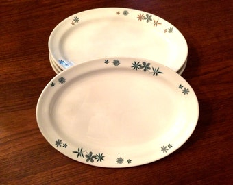 Vintage Homer Laughlin/Syracuse Restaurant Ware Oval Plates