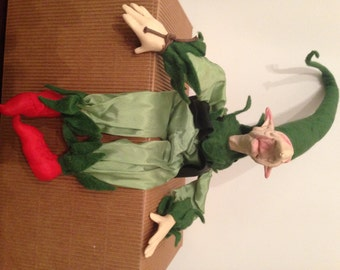 """The magical world of Paolo Chiari """"gnomes dresses-Chipping"""""""