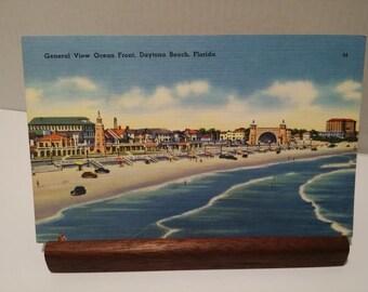Post Card General View Ocean Front Daytona Beach Florida 1020