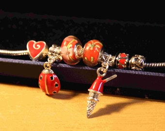 self-design fantastic charm bracelet