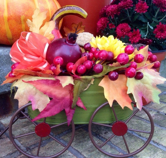 Items similar to sale autumn thanksgiving wagon