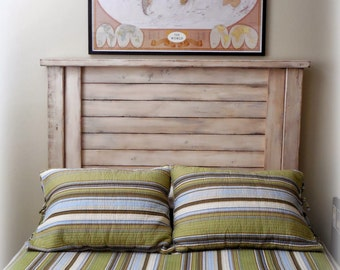 FULL size shutter-style HB ONLY / farmhouse headboard / vintage