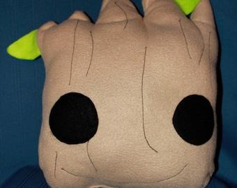 Baby Groot Handmade Pillow