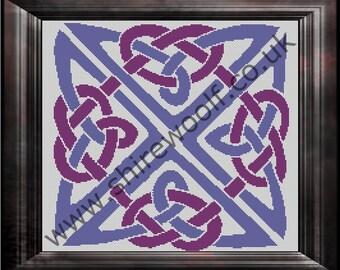 Celtic Knot Cross Stitch Pattern PDF