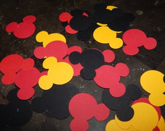 Mickey Mouse Confetti - Mickey Mouse Birthday Decor - Mickey Birthday Decoration - Mickey Confetti - Mickey Mouse Baby Shower - Mickey Party